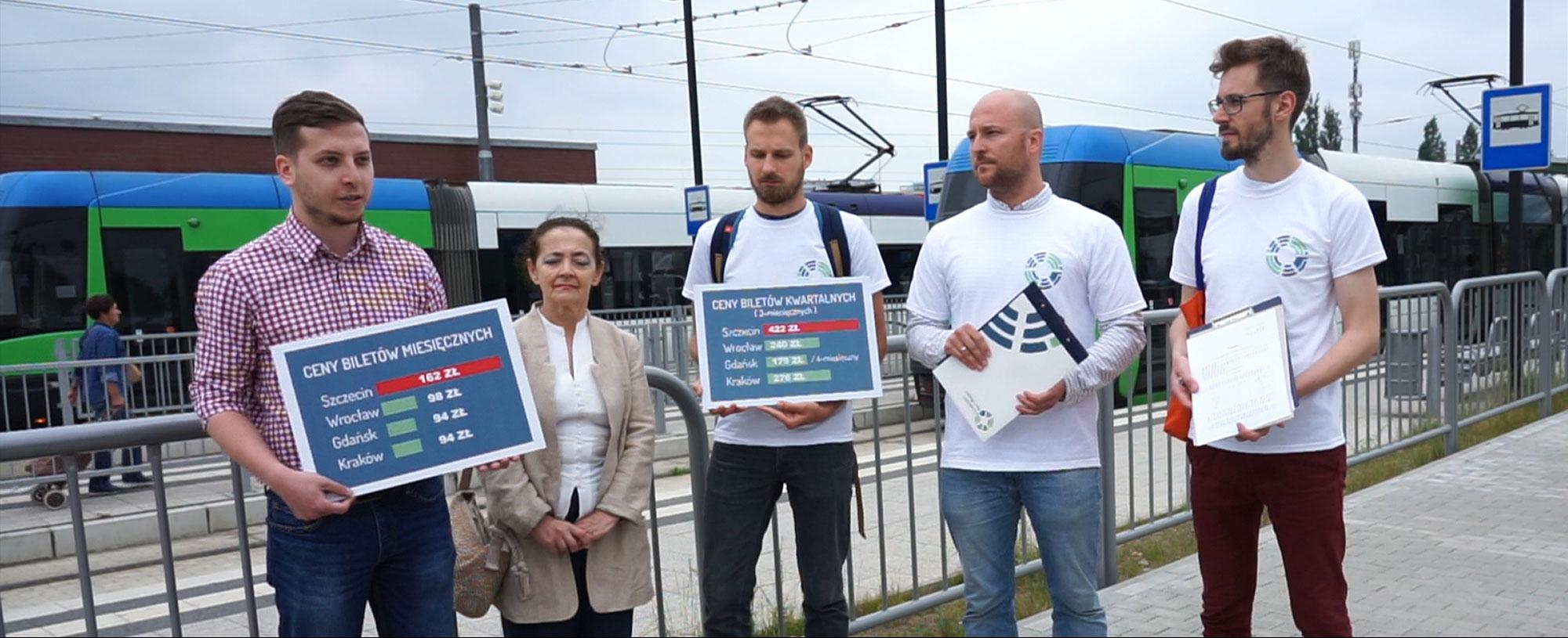 List otwarty w sprawie obniżenia cen biletów okresowych w Szczecinie