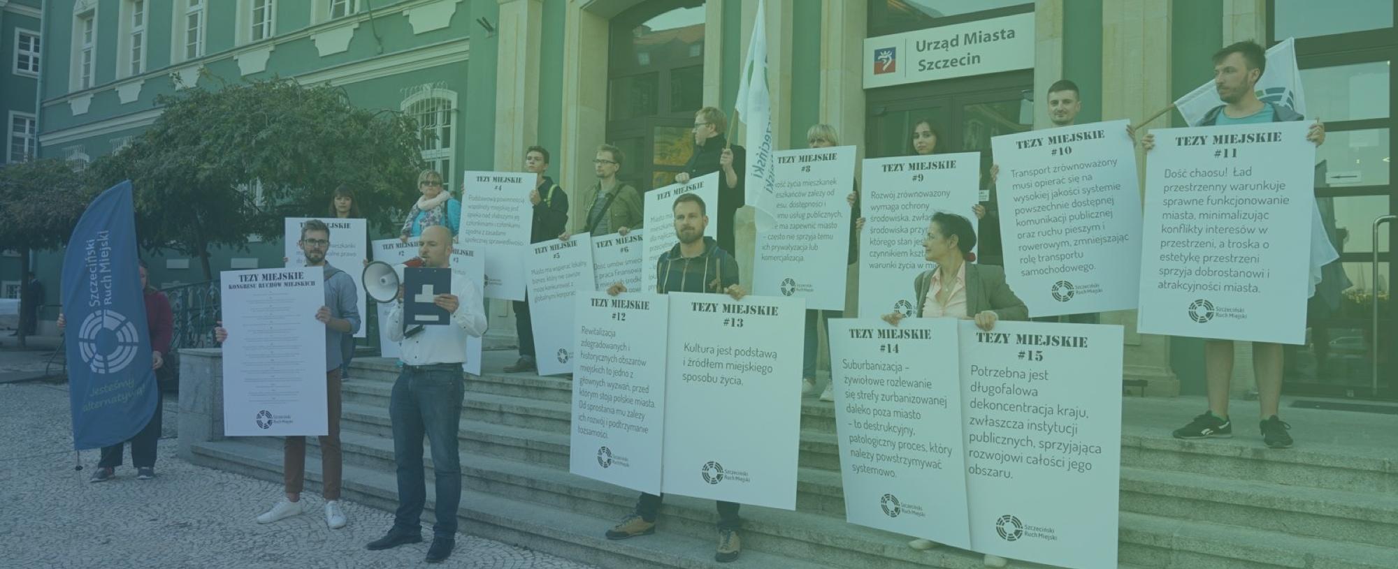 Szczeciński Ruch Miejski podpisuje się pod 15 tezami miejskimi